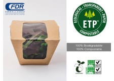ETP - Film écologique transparent 100% biodégradable et compostable.